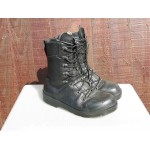 Genuine Surplus German Forces Para Boots Black Leather MK6 Grade 1