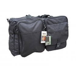 Highlander Dual Jackal Pack Jackal Holdall Messenger Bag 2 in 1 Black