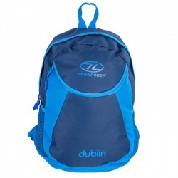 Highlander Dublin Rucksack Daysack 15 Litre School bag, Lunch Bag Royal Blue