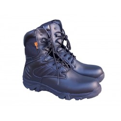 Highlander Echo Tactical Boots Black Leather SWAT Forces Military Special Ops