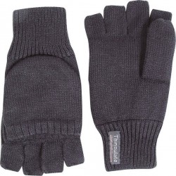 Jack Pyke Knitted Foldback Shooters Mitts Black