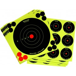 Jack Pyke Spot Shot Mixed Target Stickers Self Adhesive Targets