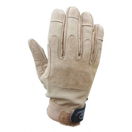 Highlander Lightweight Leather and Fabric Mission Glove Tan