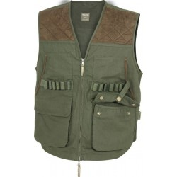 Jack Pyke Countryman Hunters Vest Shooting Picker Up Vest Pocketed Olive Green