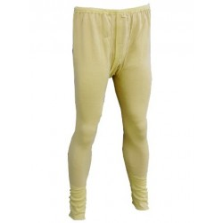 Genuine Surplus Dutch Thermal Long Johns Mustard Brand New