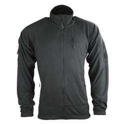 Kombat Delta Tactical Grid Fleece Black
