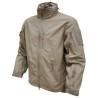 Viper Elite Jacket Lightweight Water Resistant Tactical Micro-Shell Combat Tan