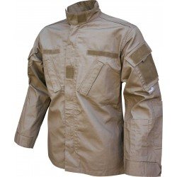 Viper Combat Shirt Tactical Ripstop Polycotton Airsoft Military Style Coyote Tan