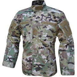 Viper Combat Shirt Tactical Ripstop Polycotton V-Cam Multicam Style Camouflage