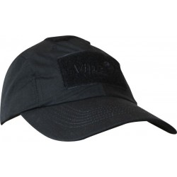Viper Elite Baseball Cap Ripstop Tactical Military Baseball Hat Peak Cap Black