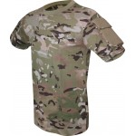 Viper Tactical T-Shirt Military Airsoft Cotton Pockets on Sleeve V-Cam Camouflage