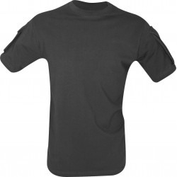 Viper Tactical T-Shirt Military Airsoft Cotton Pockets on Sleeve Black