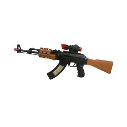 KIDS TOY ELECTRONIC PLASTIC ARMY SOLDIERS AK47 PLAY TOY GUN