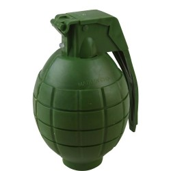 KIDS TOY ELECTRONIC PLASTIC ARMY SOLDIERS  PLAY TOY HAND GRENADE  WITH  SOUND