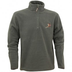 Jack Pyke Pheasant Motif Fleece Pullover - Country Pursuits Clothing