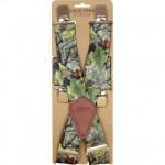 Jack Pyke Elasticated Shooting Braces Woodland Camouflage Pattern - Shooting Clothing Accessories
