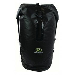 Ex Display Highlander Drybag Tough Waterproof Camping Black Troon Duffle