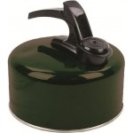Ex Display Highlander 2 Litre Aluminium Kettle Camping Green