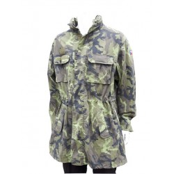 Genuine Surplus Czech Camo Parka Cotton Army Forces