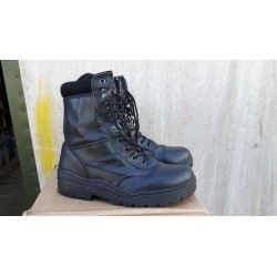 Milcom All Leather Patol Boot Cadets UK Size 7 Black