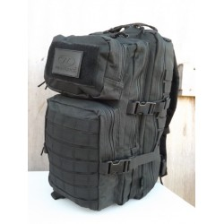 Highlander Tactical Recon Pack Black Assault Pack Day Sack Rucksack Military 28 Litre