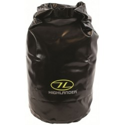 Ex Display Tri-Laminate PVC Drybag Small Strong Tough Dry Sack Sailing Balck
