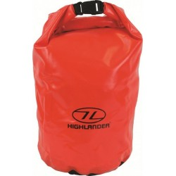Ex Display Tri-Laminate PVC Drybag Small Strong Tough Dry Sack Sailing Orange