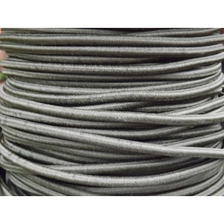 Highlander 6mm Shockcord Bungee Cord Strong Olive Elastic