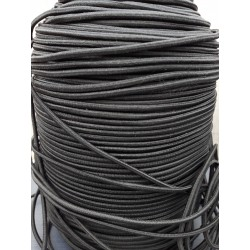 Highlander 2mm Shockcord Bungee Cord Strong Black Elastic