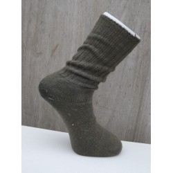 Genuine Surplus Army Issue Green Wool Combat Socks Warm Cold Weather MOD