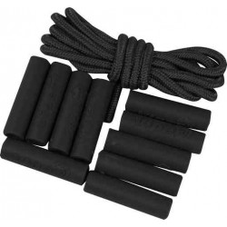Viper Zip Puller Sleeve Set For Rucksacks Military Tactical Zipper Tabs Black