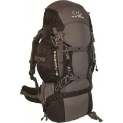 Ex Display 45L Large Rucksack Backpack Hiking Walking Camping Black 797