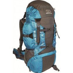 Ex Display 45L Large Rucksack Backpack Hiking Walking Camping Teal 798