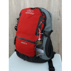 Ex Display 35L Rucksack Daysack Backpack Hiking Walking Camping Sport Bag Red 799