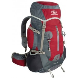 Ex Display 35+5L Rucksack Backpack Large Camping Walking Hiking Red 801