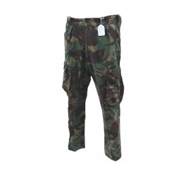Gine Vintage 1980's Army Lined Camo Combat Trousers DPM Pants 856