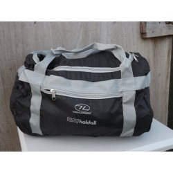 EX Display Highlander Packaway Holdall Folding Travel Bag Fold Awsy Black 910