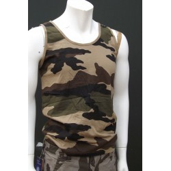 Mil-Tec by Sturm US Woodland Camouflage Vest Cotton Gym Tank Top Training New