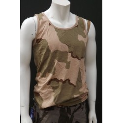 Mil-Tec by Sturm US Tricolor Camouflage Vest Cotton Gym Tank Top Training New