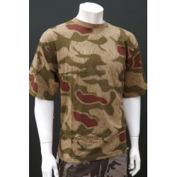 Mil-Tec by Sturm Raindrop Camouflage T-Shirt 100% Cotton Mens Short Sleeve