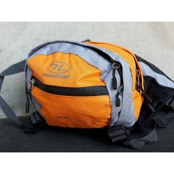 Ex-Display Highlander 7 Litre Bum Bag Fanny Pack Large Pockets Belt Orange 035
