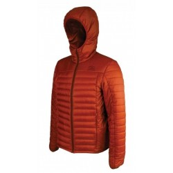 Highlander Bara Insulated Hybrid Jacket Warm Thermal Quilted Packaway Mens Pumpkin