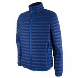 Highlander Down Jacket Duck Feather Warm Thermal Quilted Packaway Mens Blue