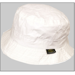 Highlander Premium Sun Hat Sunhat Summer Lightweight Cotton wide Brim White