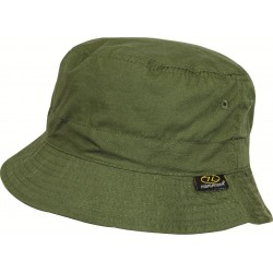 Highlander Premium Sun Hat Sunhat Summer Lightweight Cotton wide Brim Green