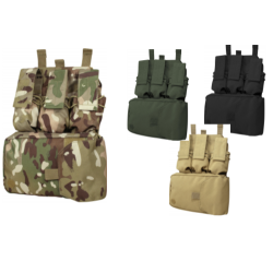 Viper MOLLE Assault Panel Pouch Modular Airsoft Army Military Black Tan Camo