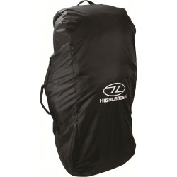 Ex-Display highlander Combo Rucksack Cover Large 80-100 L Black 055