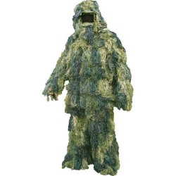 Ex-Display Ghillie Suit Adult Woodland Camouflage Camo Outfit Hunting Airsoft M-L