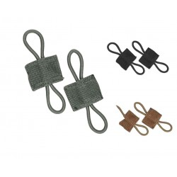 Viper MOLLE Retainers Clips Hooks Airsoft Army Military Grey Green Coyote