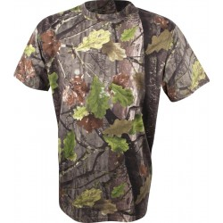 Jack Pyke Short Sleeve T-Shirt English Oak EVO Camouflage Hunting Fishing Camo